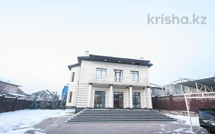 7-комнатный дом, 420 м², 8 сот., Ремизовка — Аль-Фараби за 170 млн ₸ в Алматы, Бостандыкский р-н