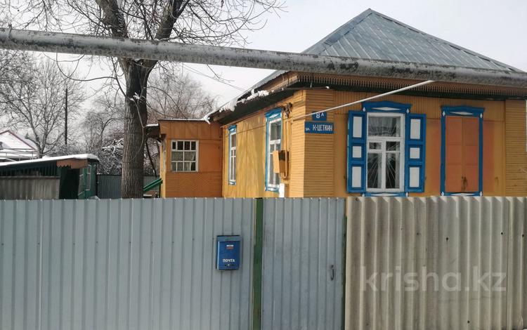3-комнатный дом, 41.7 м², 5 сот., Клары цеткин за 15 млн 〒 в Алматы, Турксибский р-н