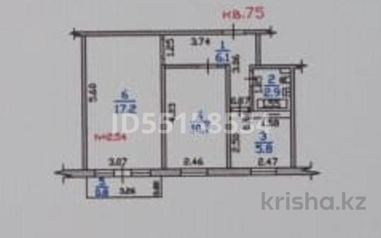 2-комнатная квартира, 45.3 м², 3/4 этаж, Манаса 3 — Шевченко за 16.7 млн 〒 в Алматы, Алмалинский р-н