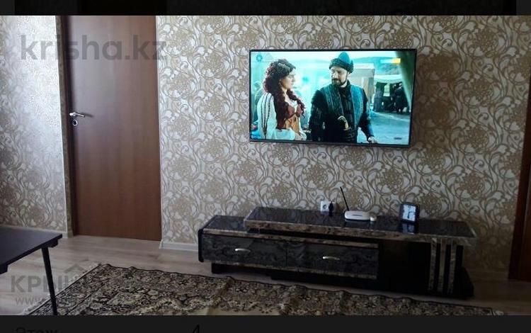 2-комнатная квартира, 55 м², 3 этаж посуточно, Агыбай Батыра — Ленина за 6 000 〒 в Балхаше
