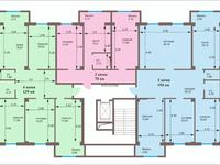 3-комнатная квартира, 105 м², 4/9 этаж