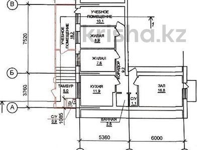 5-комнатная квартира, 98 м², 1/6 этаж, Жумабека Ташенова за 31 млн 〒 в Нур-Султане (Астана), р-н Байконур