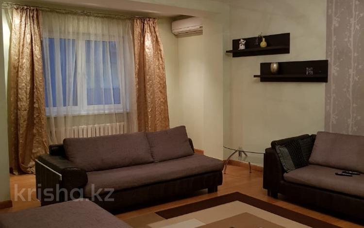4-комнатная квартира, 130 м², 4/9 этаж помесячно, Наурызбай Батыра 6 — Тимирязева за 330 000 〒 в Алматы
