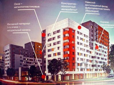 2-комнатная квартира, 59.53 м², проспект Туран — Ханов Керея и Жанибека за ~ 16.6 млн 〒 в Нур-Султане (Астана), Есиль р-н