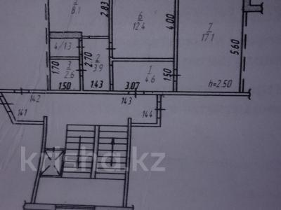 2-комнатная квартира, 50 м², 9/9 этаж, проспект Металлургов 17 за 4.2 млн 〒 в Темиртау