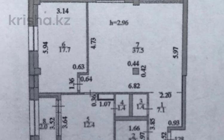 2-комнатная квартира, 85 м², 13/18 эт., Е-10 17П за 36.5 млн ₸ в Нур-Султане (Астана), Есильский р-н