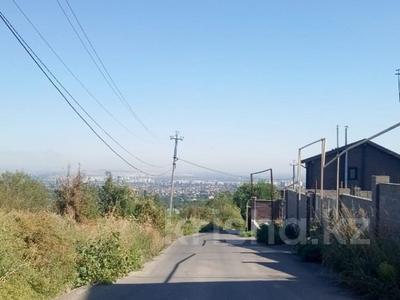 Участок 10 соток, мкр Таусамалы, Жанжигитова 12 за 6 млн 〒 в Алматы, Наурызбайский р-н