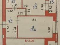 2-комнатная квартира, 61 м², 4/10 этаж