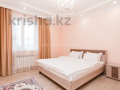 2-комнатная квартира, 65 м², 4/23 эт. посуточно, Сарайшык 7А за 16 000 ₸ в Астане, Есильский р-н