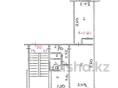 2-комнатная квартира, 44.8 м², 2/5 этаж, Байсеитовой 2/1 за 4.3 млн 〒 в Темиртау — фото 2