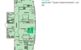 3-комнатная квартира, 99 м², проспект Туран 52 — Бухар жырау за ~ 30.3 млн 〒 в Нур-Султане (Астана), Есиль р-н