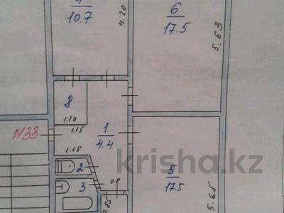 3-комнатная квартира, 60.2 м², 3/4 этаж, 2 мкр 25 за ~ 10.9 млн 〒 в Капчагае — фото 3