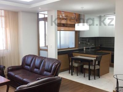 2-комнатная квартира, 75 м², 9/22 этаж помесячно, Кабанбай батыра 43 В за 200 000 〒 в Нур-Султане (Астана), Есиль р-н
