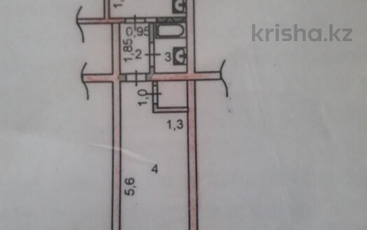 1-комнатная квартира, 27 м², 3/4 этаж, Уалиханова 241 за 4.9 млн 〒 в Шымкенте, Енбекшинский р-н