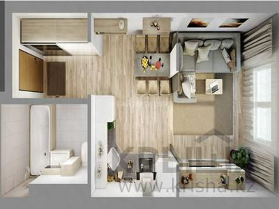 1-комнатная квартира, 26 м², 2/3 эт., Кургальджинское шоссе — Исатай батыр за ~ 4.6 млн ₸ в Нур-Султане (Астана), Есильский р-н