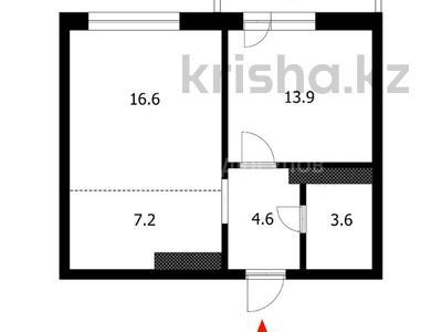 2-комнатная квартира, 47.3 м², 8/15 этаж, проспект Рахимжана Кошкарбаева 32/3 — улица Касыма Аманжолова за 19.5 млн 〒 в Нур-Султане (Астана), Алматы р-н — фото 6