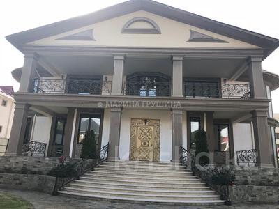 7-комнатный дом помесячно, 700 м², 13 сот., мкр Баганашыл — Яблоневый сад за 2 млн ₸ в Алматы, Бостандыкский р-н