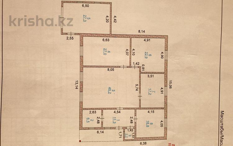 4-комнатный дом, 177 м², 9 сот., Мкр.Сарыкамыс-2 ул-14 1 за 33 млн 〒 в Атырау