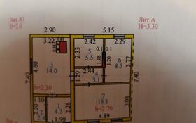 3-комнатный дом, 52.9 м², Болотная 23/1 — Пришахтинск за 4.5 млн ₸ в Караганде, Октябрьский р-н