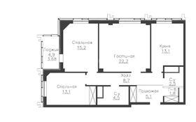 3-комнатная квартира, 89 м², 18 этаж, проспект Мангилик Ел за ~ 33.9 млн 〒 в Нур-Султане (Астана), Есиль