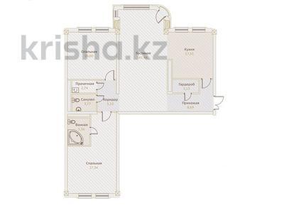 3-комнатная квартира, 140.64 м², Назарбаева — Хаджимукана за ~ 107.6 млн ₸ в Алматы, Медеуский р-н — фото 2