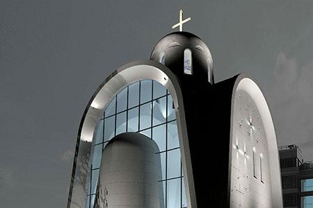 Новости: Проект футуристической церкви победил намеждународномконкурсе