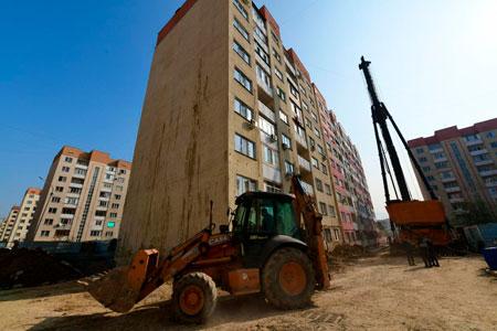 Новости: Валматинском мкр Зердели укрепляют три дома