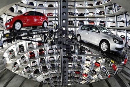 Новости: В Астане строят огромный паркинг