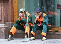 Новости: В Караганде бастуют уборщики улиц