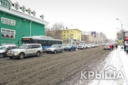 Новости: Байбек остался недоволен уборкой улиц отснега
