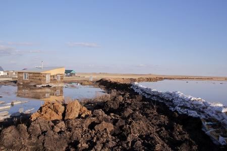 Новости: В Акмолинской области четыре села могут уйти под воду