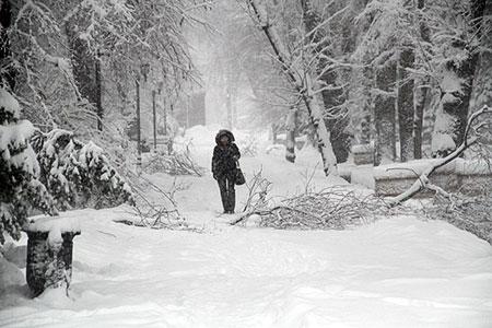 Новости: Алматы и Астану засыпало снегом
