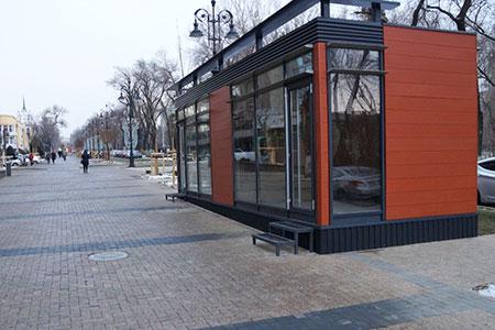 Новости: Названа стоимость аренды киоска наул.Панфилова вАлматы