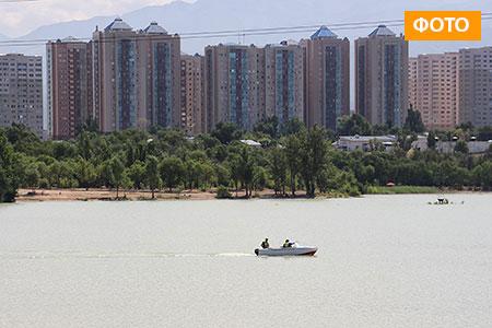 Новости: Сразу два городских пляжа открылись вАлматы