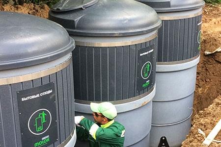 Новости: Названы адреса, где вАстане появятся подземные мусорныеконтейнеры