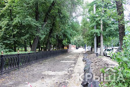 Новости: Алматинцев возмутил снос заборов впарке 28панфиловцев