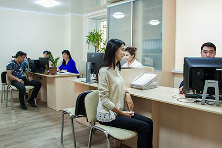 Новости: Центр обслуживания населения открыли вуправлении жильяАлматы