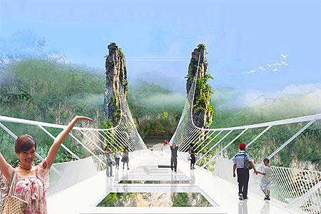 Новости: Мост не для слабонервных появится в Китае