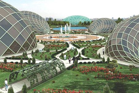 Новости: Строительство ботанического сада вАстане завершится вконцегода