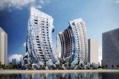 Новости: В Дубае построят небоскрёб в виде подковы