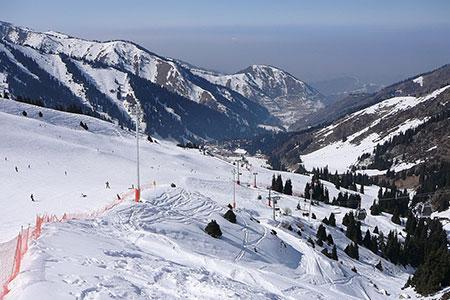 Новости: Шымбулак назвали самым дорогим горнолыжным курортом вСНГ