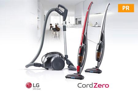 Статьи: LG: пылесос CordZero: ни проводов, ни пыли!