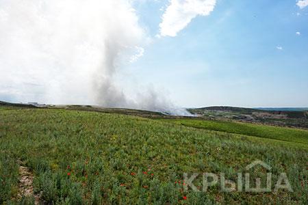 Новости: Натреть ликвидировано тление намусорном полигоне близ Алматы