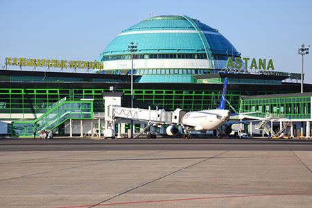 Новости: Аэропорт Астаны переименовали в Международный аэропорт Нурсултан Назарбаев