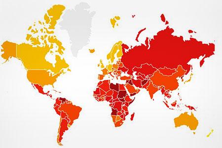 Новости: Казахстан ослабил позиции в рейтинге восприятия коррупции
