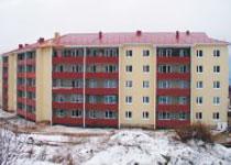 Новости: ВЗыряновске попрограмме «Занятость-2020» достроен <nobr>60-квартирный</nobr> дом