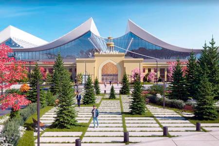 Новости: Презентована концепция нового терминала аэропорта Алматы ссохранением исторического здания