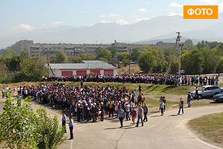 Новости: Жителей Алматы попросили на улицу