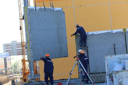 Новости: ВУральске задва месяца построили 9-этажный дом