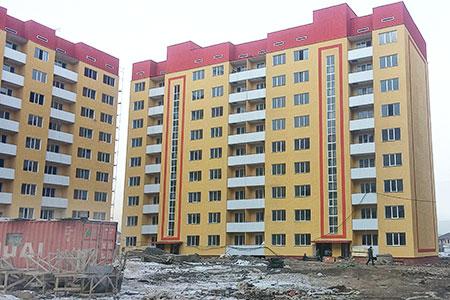Новости: Для вкладчиков ЖССБК досрочно построили жильё